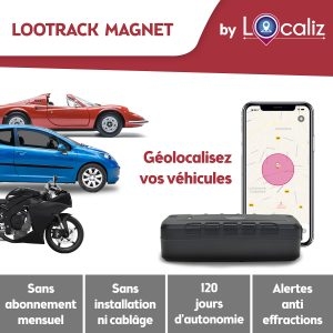 Localiz Lootrack voiture moto gps