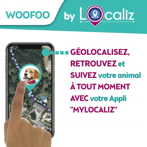 Woofoo Localiz chien animaux geolocalisation