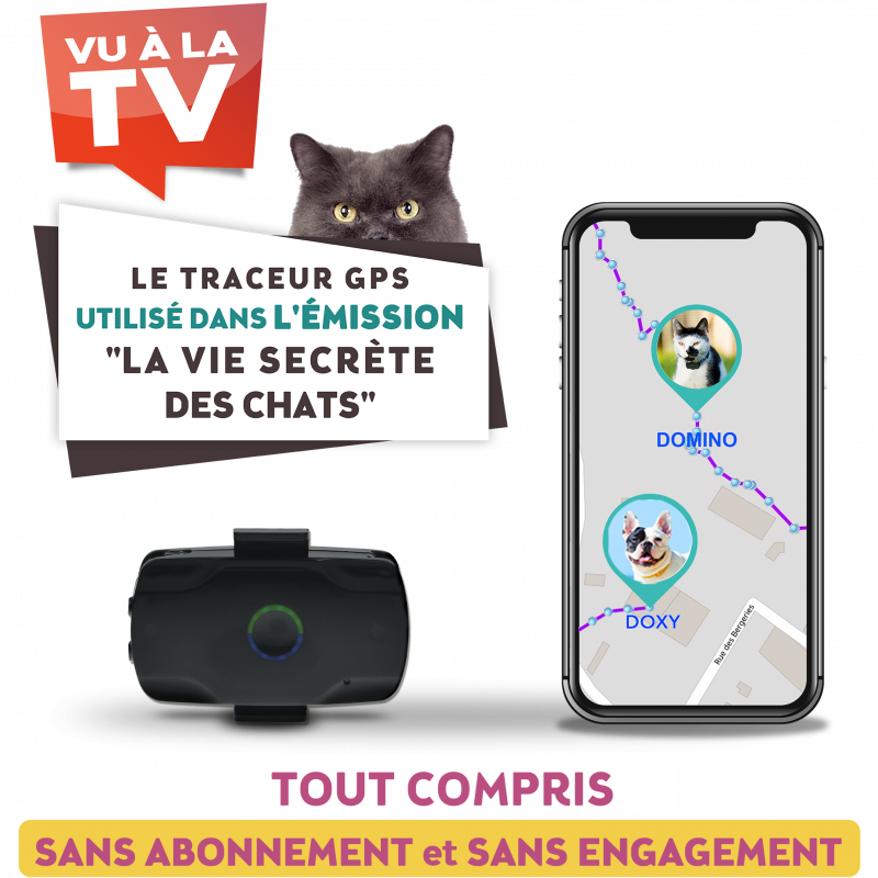 Localiz traceur gps chat