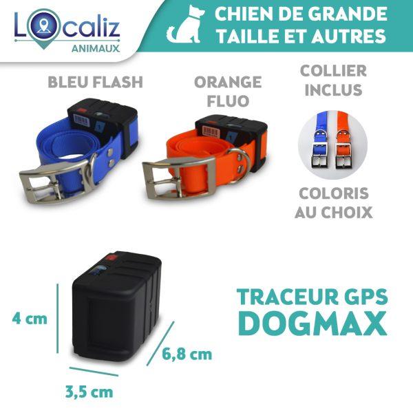 Dogmax Localiz GPS chien