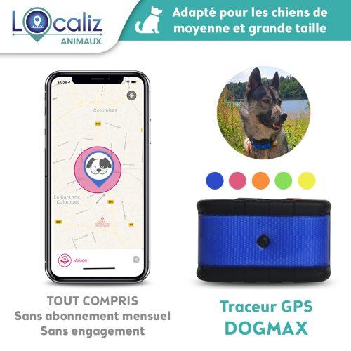Traceur GPS chien Dogamx Localiz