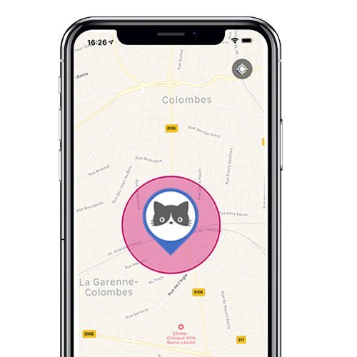 localiz application mobile traceur gps chat lookat 7